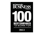 Minnesota Business 100 BEST COMPANIES